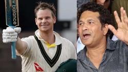 Master Blaster Sachin Praises Australian Ace Batsman Steve Smith