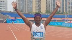 Srivilliputhur Si Wins Gold Medal In Race Walk Tournament