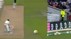 Steve Smith Hits A Beach Ball To Boundary In Ashes Series Goes Viral