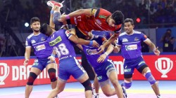 Pro Kabaddi League 2019 Bengaluru Bulls Vs Haryana Steeler 118th Match Result
