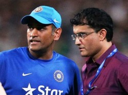 Ganguly Says He Will Talk To Dhoni About His Plans