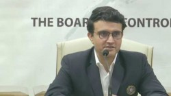 Ganguly Answers Questions About Dhoni And Virat Kohli In His First Press Conference