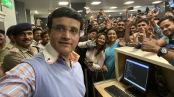 Sourav Ganguly Took A Selfie To Make All Fans Happy