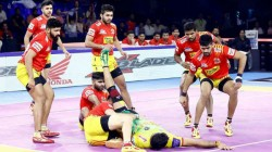 Pro Kabaddi League 2019 Gujarat Fortunegiants Vs Patna Pirates 123rd Match Result