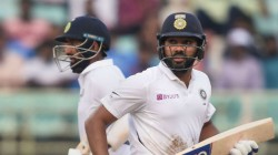 Ind Vs Sa Rohit Sharma Cursed Test Specialist Pujara During The Match
