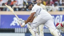 Ind Vs Sa Rohit Sharma Hit The Sehwag Shot To Reach Century