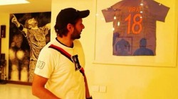 Shahid Afridi House Went Viral After Pic Of Virat Jersy Showcased In Living Room