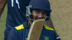 Meghalaya Player Abhay Negi Smashed 14 Ball Fifty