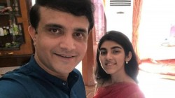 Sourav Ganguly Funny Banter With His Daughter Sana Ganguly