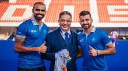 Kamal Haasan Meets Indian Hockey Team And Odisha Fc Team