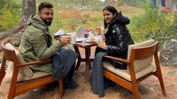 Kohli And Anushka Celebrate In Bhutan