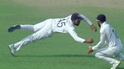 Ind Vs Ban Rohit Sharma S Superman Catch Stuns Fans