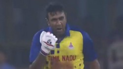 Ashwin Emotions Create Scenes In Mushtaq Ali Tropy Final Match Against Karnataka