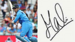 Ms Dhoni S Die Hard Fan Wants 183 Autographs From Him