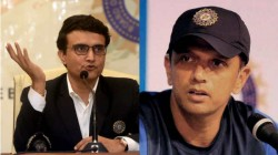 Ganguly To Meet Dravid To Discuss Several Things About Cricket Report