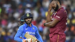 Ind Vs Wi Ravindra Jadeja Given Run Out By Umpire After Seeing Replay