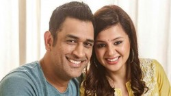 Captain Cool Teases His Wife Sakshi On Her Dialogue Delivery