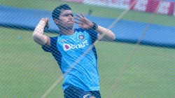Ind Vs Wi Navdeep Saini Debut In Third Odi Against West Indies