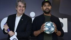Rohit Sharma As Brand Ambassador For La Liga Football Series