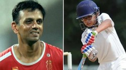 Samit Dravid Scores Double Century In Under 19 Match