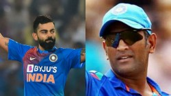 Ind Vs Wi Virat Kohli Not Happy With Fans Chant Dhoni Name