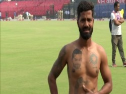 Virat Kohli S Fan Who Grabbed Attention Of Others With 16 Tattoos In His Body