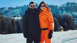 Virat Kohli Anushka Sharma S Celebrations In Switzerland Varun And Natasha Joins