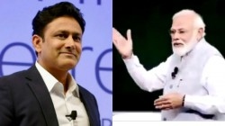 Anil Kumble Thanked Pm Modi Cites His Example To Students