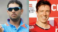 Yuvraj Singh Welcomes Leo Carter To 6 Sixes Club