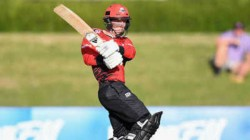 Nz Player Leo Carter Hity Six Sixes In An Over