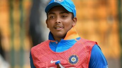 Prithvi Shaw May Never Get Into Indian Team Says Sources