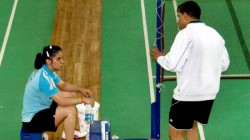 Did Not Force Saina Nehwal To Train Under Vimal Kumar Prakash Padukone Academy