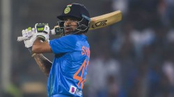 Due To Shoulder Injury Shikhar Dhawan Ruled Out Of T20i Series In New Zealand