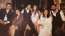 Virat And Anushka Welcomes New Year With Bollywood Celebrities