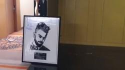 Virat Kohli S Portrait Made With Old Phones Virat Signed