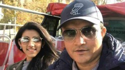 Sourav Ganguly Gets Trolled By Daughter Sana Again In Social Media
