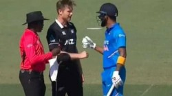 Jimmy Neesham Had Challenged Kl Rahul For A Game Of Paper Scissors Rock