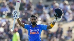 Ind Vs Nz Kl Rahul Hit His 4th Century After Long Time