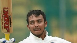 Ind Vs Nz Prithvi Shaw Hit Fift And Enter Record Books In Test