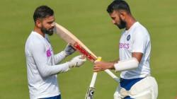 Ind Vs Nz Kohli Is Not Happy With Pujara S Slow Batting