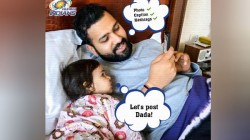 Rohit Sharma Seeks Approval From Cute Manager For Social Media Post