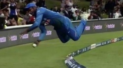 India Vs New Zealand 5th T20i Sanju Samson Left Everyone Mind Boggled With His Athleticism