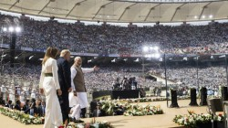 Us President Donald Trump Modi Speech On New Motera Stadium