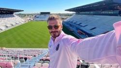 David Beckham Visits Empty Stadium As Mls Club S Home Debut Delayed