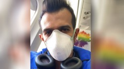 India Vs South Africa Chahal Wears Face Mask To Avoid Coroa Virus
