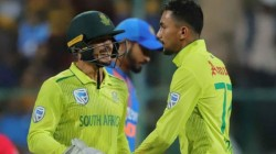 Ind Vs Sa South African Players Stranded In India