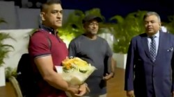 Ms Dhoni Gets Hero S Welcome In Chennai