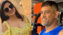 Sakshi Dhoni Message To Her Husband For Parking Bike