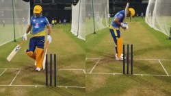 Thala Dhoni Smashes The Balls Out Of The Stadium