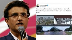 Ganguly Sad About Kolkata Lockdown Due To Coronorvirus Outbreak